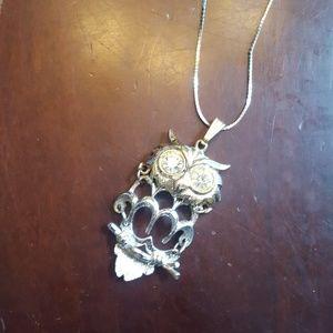 unknown Jewelry - Owl necklace